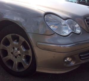 Mercedes Before
