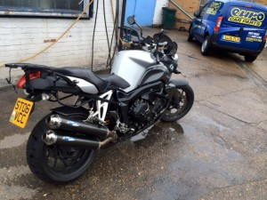 Motorbike Before